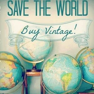 BUY vintage and save the world